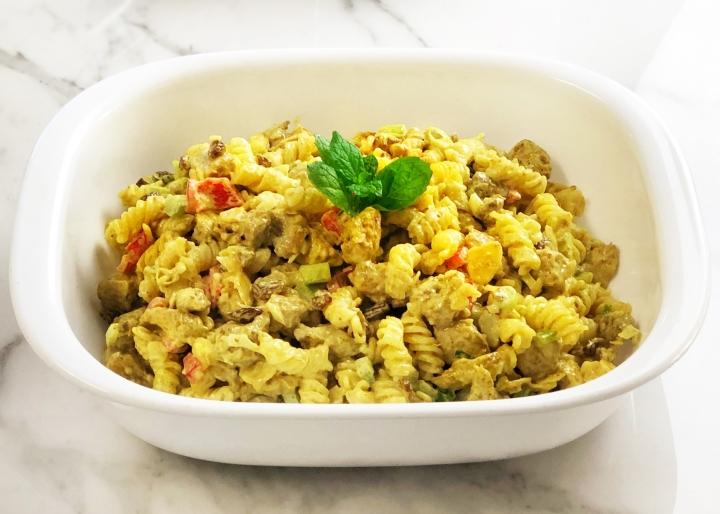 Curry Chicken Salad withPasta